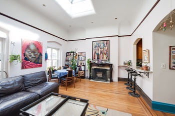 Unique loft-like 2 bedroom - 2 fireplace + private rooftop in the heart of Gramercy Park