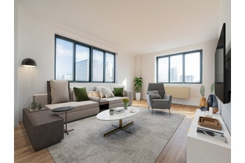 Sun Drenched 2 Bedroom Condo In Downtown Jersey City